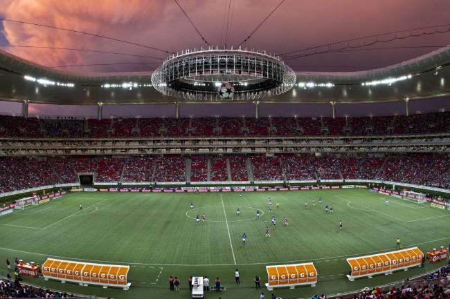 Estadio Omnilife Chivas al Estadio Omnilife