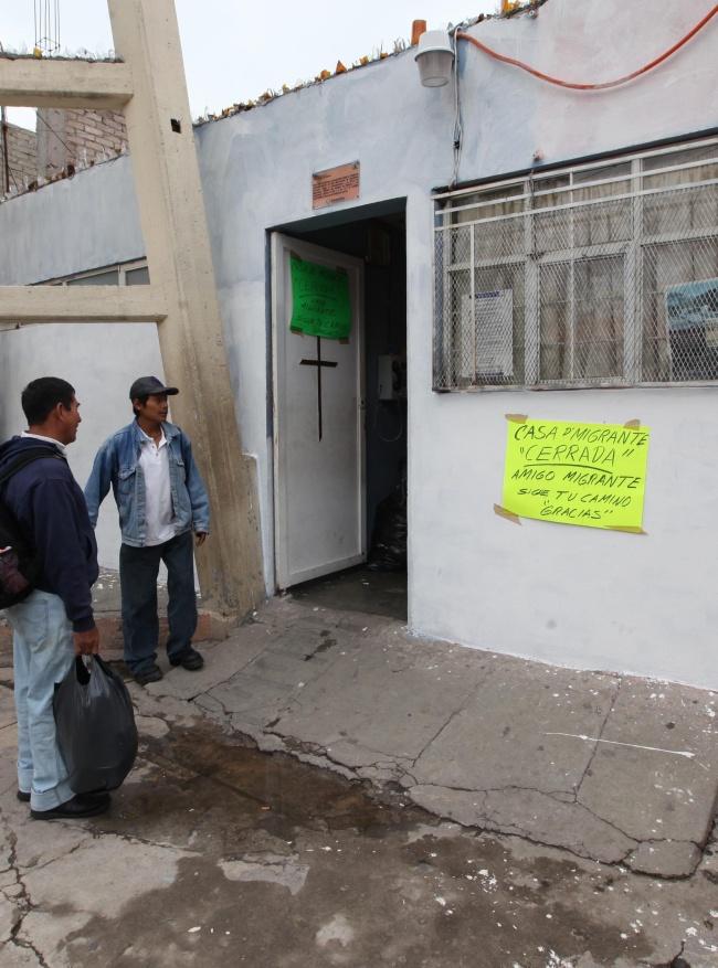Casa del migrante no ha cerrado asegura obispo for Mural de la casa del migrante