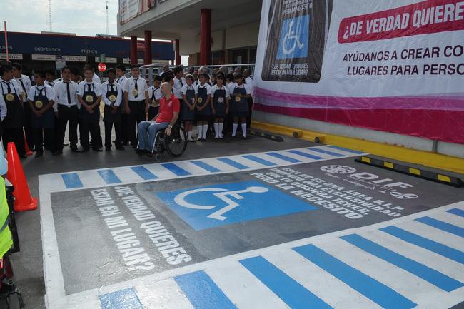 Inicia campaña a favor de discapacitados