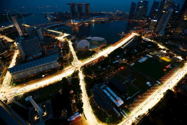 Circuito Callejero De Marina Bay : Circuito urbano de marina bay en singapur