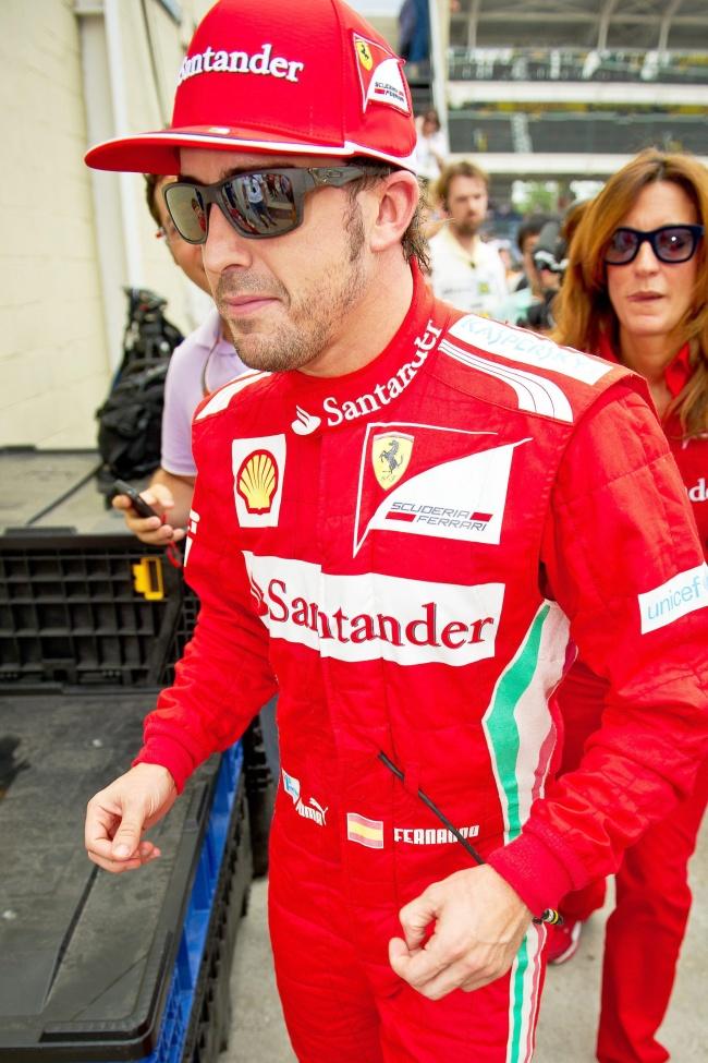 Alonso espera un caos este día en Interlagos