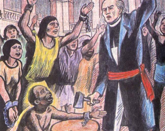 Resultado de imagen para Un día como hoy 15 de septiembre, se abolió la esclavitud en México