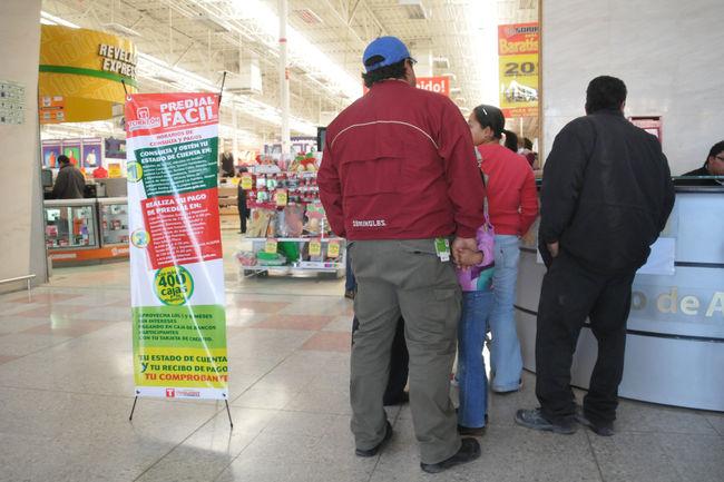 Abren m dulos para el pago del predial for Manana abren los bancos en espana