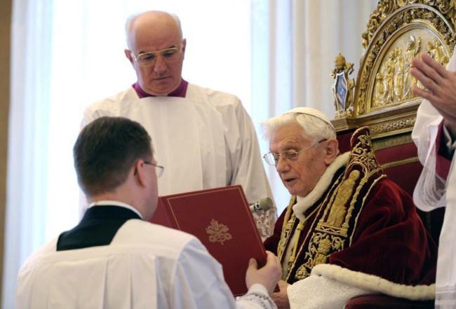 Discurso de renuncia del Papa