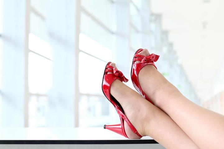 Vida sexual del pie y el zapato