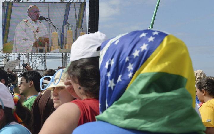 Papa clausura Jornada Mundial de la Juventud