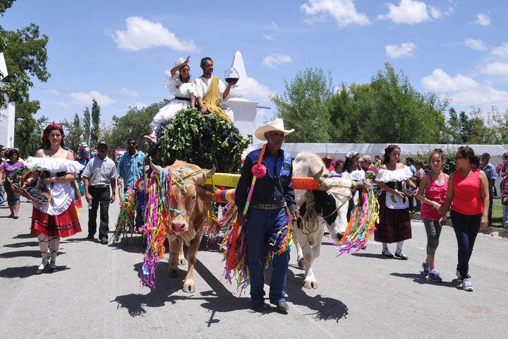 La vendimia, la gran fiesta de Parras