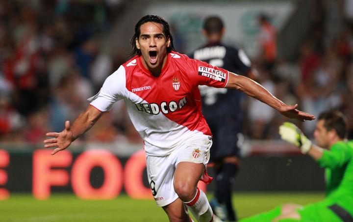 Falcao debuta con gol en Francia