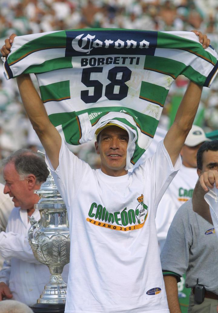 Jared Borgetti llega a los 40 años