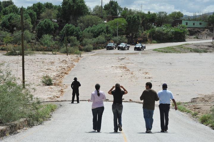 Aumenta caudal del Río Aguanaval