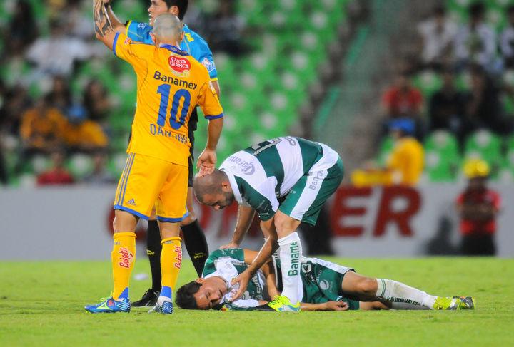 Osmar Mares tiene triple lesión