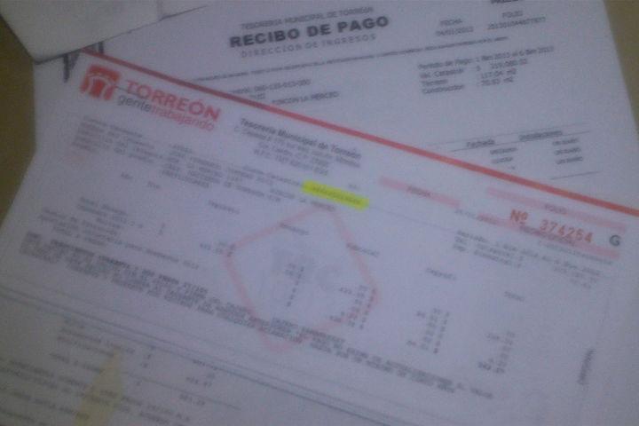 Nuevo impuesto en Torreón a partir de 2014