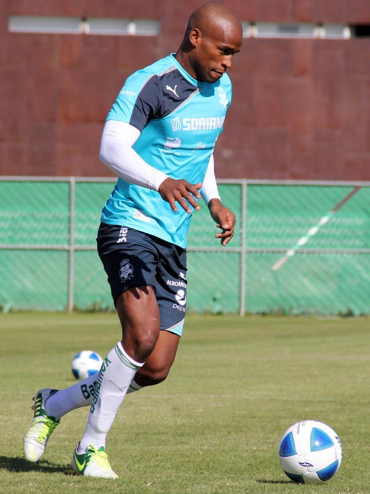 el Clausura 2014, entrenó ayer con el equipo en las instalaciones del