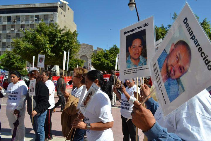 Se busca conocer registro oficial de los desaparecidos