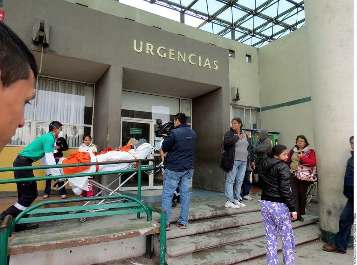 Evacuan hospital por incendio en Tamaulipas
