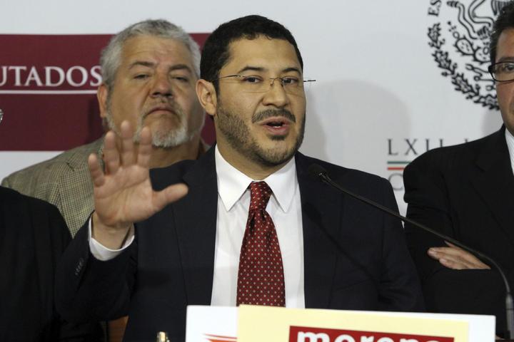 Morena listo para elecciones federales de 2015: Martí Batres