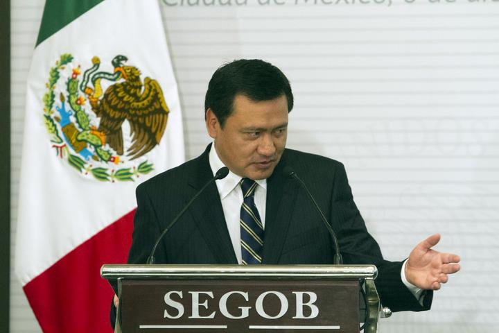 Es seguridad el tema principal que ocupa al gobierno: Osorio