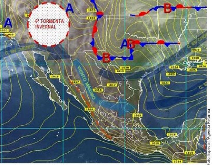 Pega sexta tormenta invernal
