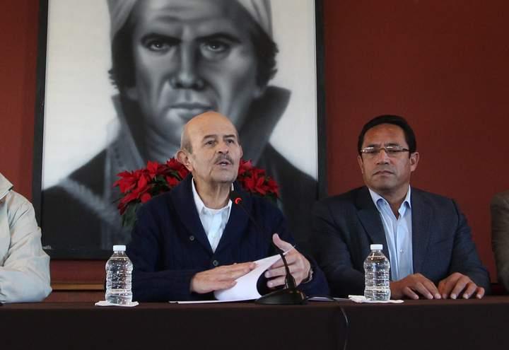 Pide Vallejo apoyo federal contra inseguridad en Michoacán