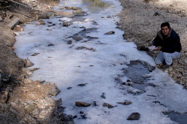 La Rosilla, Durango registró menos 18 grados centígrados