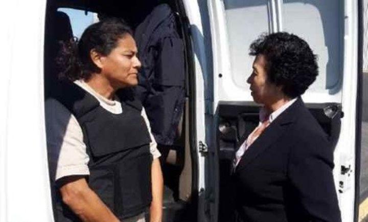Presa por pagar con billete falso espera indulto de Peña