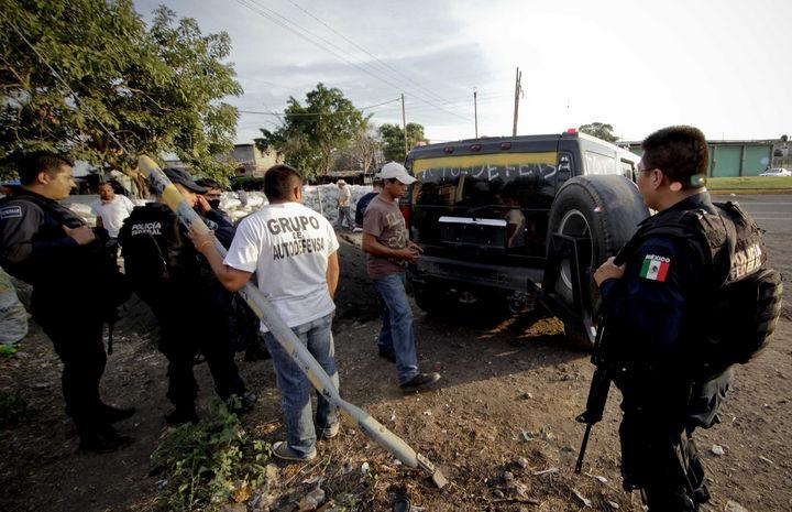 Avanzan fuerzas en Michoacán