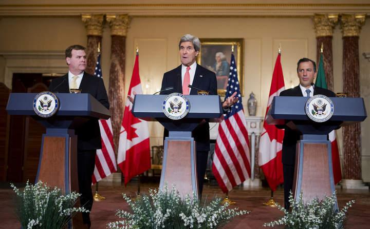 Descartan México, EU y Canadá reapertura del TLCAN