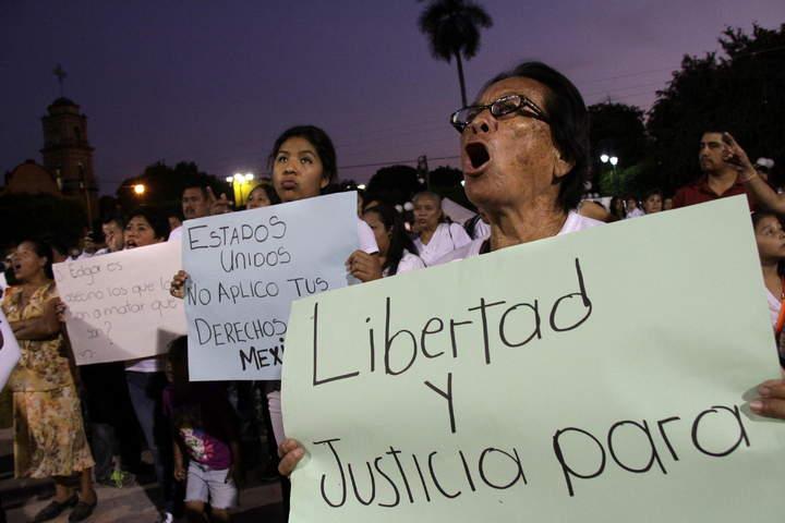 Rechazan petición de suspender ejecución de Tamayo