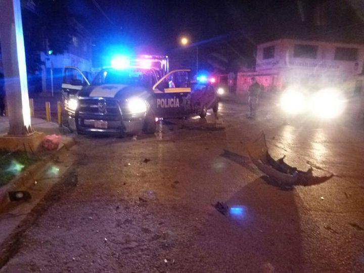 Atacan a balazos a policías en Torreón