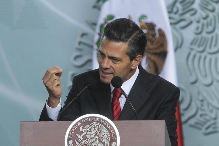 Peña Nieto lanza nuevo plan antisecuestro; es el cuarto desde 1997