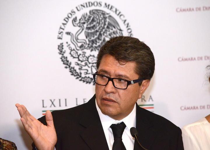 Advierte Monreal que Pacto por México sustituyó al Congreso