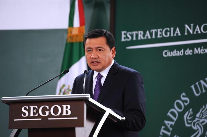 Un crimen pretender utilizar seguridad con tintes políticos: Osorio Chong