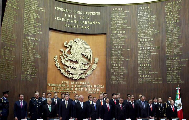 Reformas actualizan pacto social de 1917: EPN