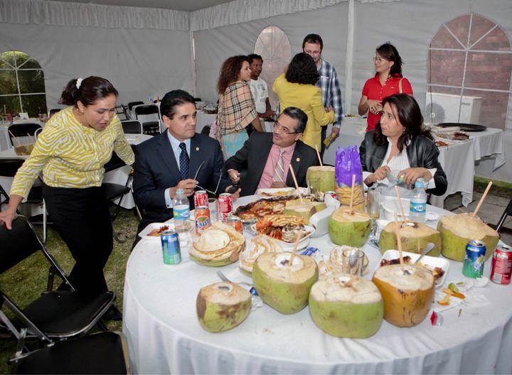 Congreso sirve para fiestas y convivios