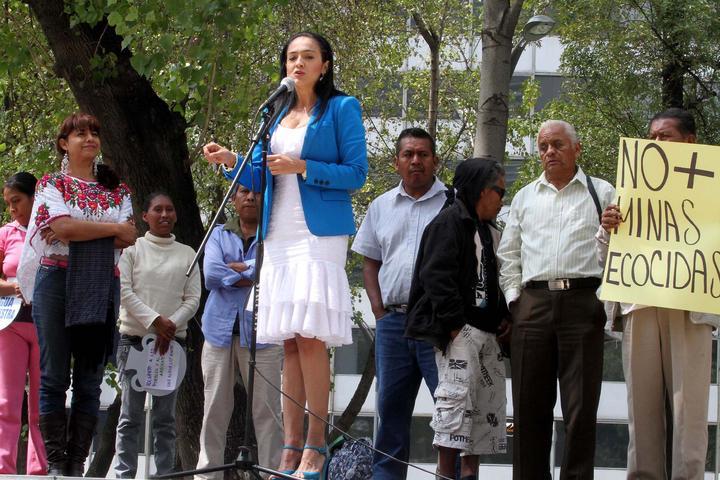 Senadora Mendoza cierra cuenta en Facebook