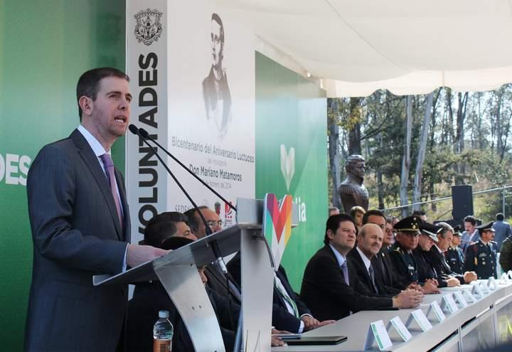 Castillo pide Ley de Extinción de Dominio en Michoacán