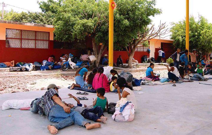 Piden asilo mil 300 michoacanos en EU