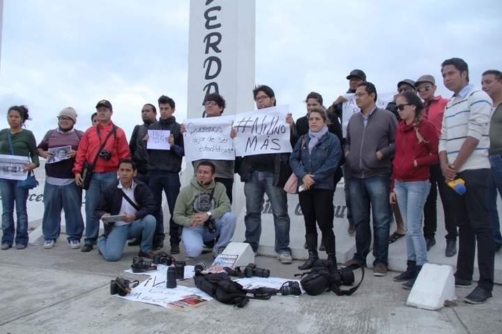 Protestan en memoria de Gregorio
