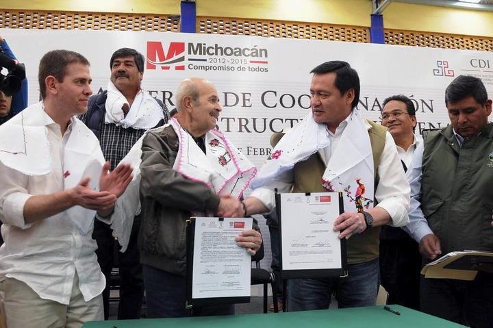 Suman 485 detenidos a un mes de Acuerdo por Michoacán