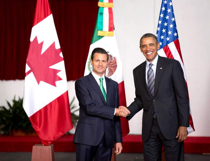 Recibe Peña Nieto a Obama en Toluca