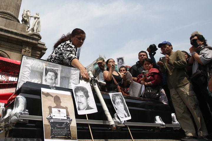 Periodistas exigen que se frenen  asesinatos