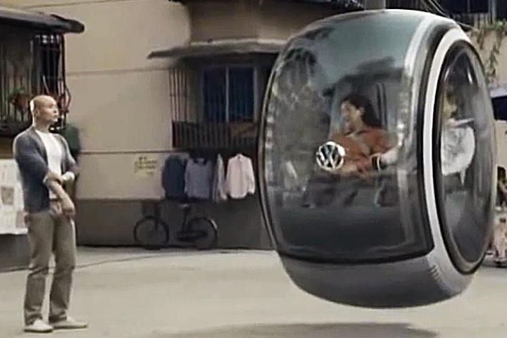 Volkswagen lanza auto volador