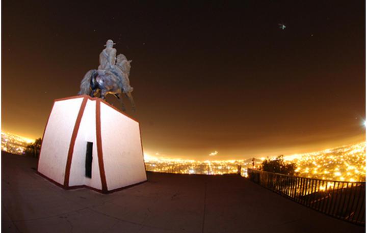 De la Loma al divisar el Cerro de la Pila