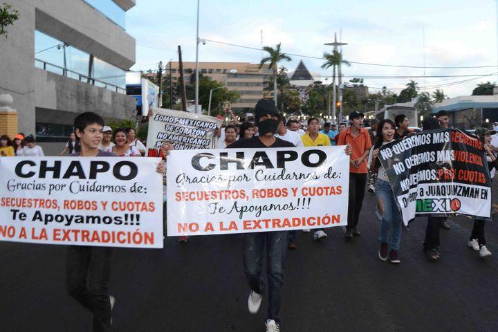 Vuelven a marchar por \'Chapo\': detienen a 170