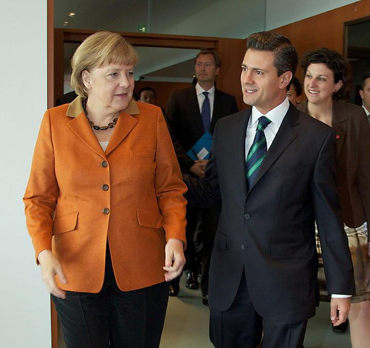 Planea EPN reunirse con Merkel este año