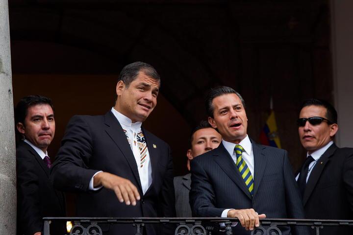 Se reúne EPN con Correa para firmar acuerdos bilaterales