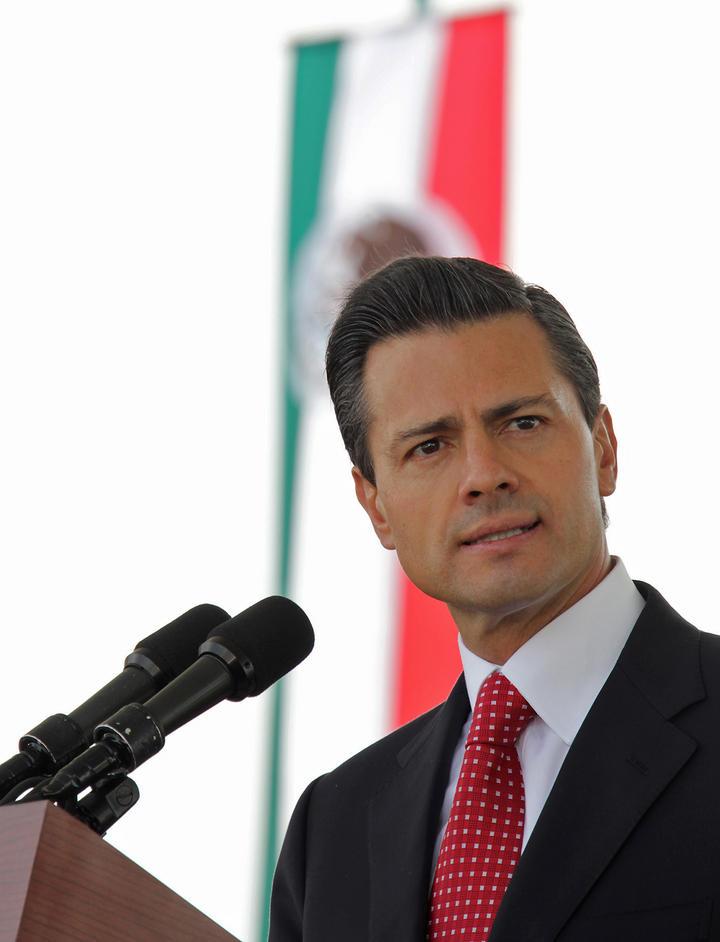 Seguirán golpes certeros contra el crimen: Peña Nieto