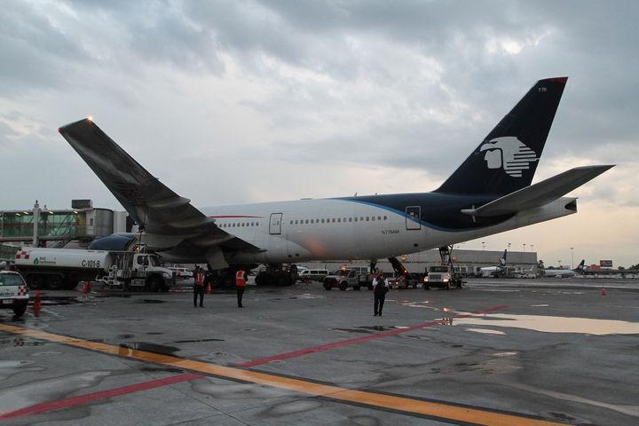Detienen a piloto ebrio de Aeroméxico en Madrid