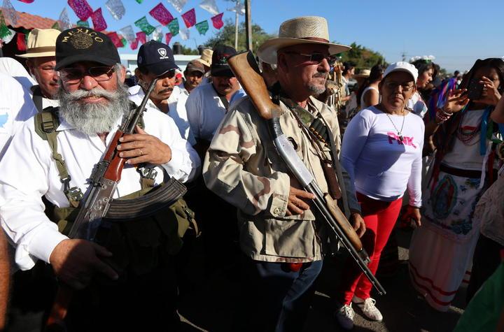 Gobierno federal busca desprestigiar autodefensas, advierte PRD