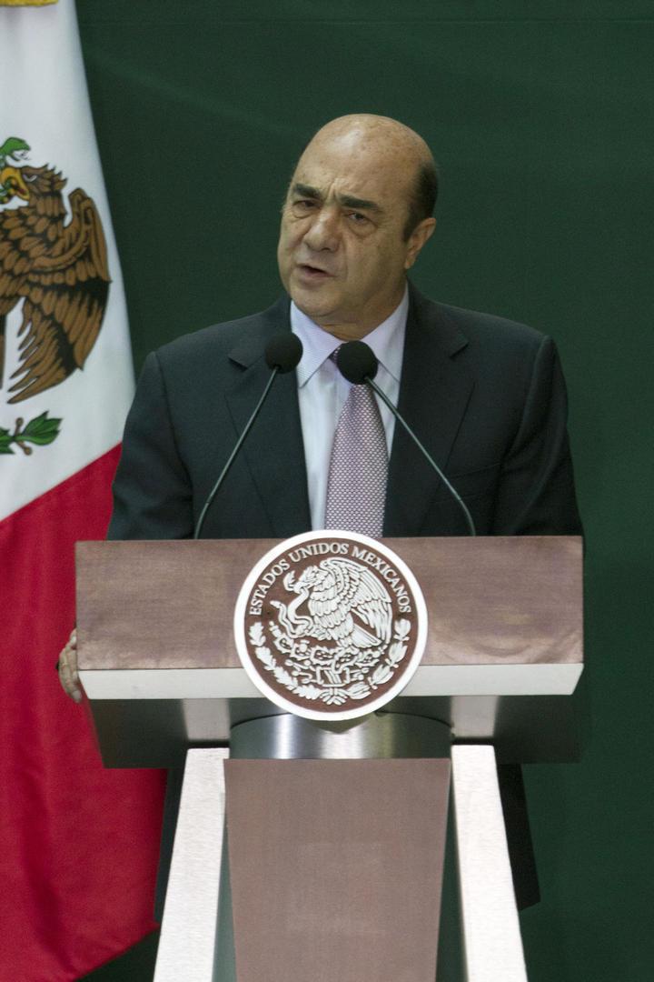Murillo Karam recibe a secretario de seguridad de EU